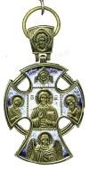 Православный нательный крест №254