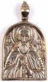 Православный нательный образок: Преп. Сергий Радонежский чудотворец
