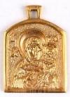 Православный нательный образок: Пресв. Богородица