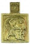 Православный нательный образок: Св. Никита Бесогон