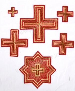 """Набор вышитых крестов """"Николаев"""""""