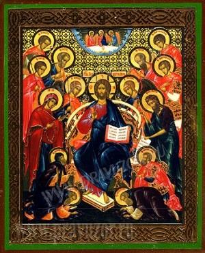 Икона: Деисусный чин