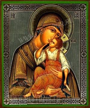 """Образ: """"Яхромская"""" икона Пресвятой Богородицы"""