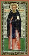 Икона: Преподобный Елеазар Анзерский