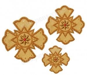 Кресты ручной вышивки №Д113