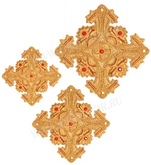 Кресты ручной вышивки №Д161