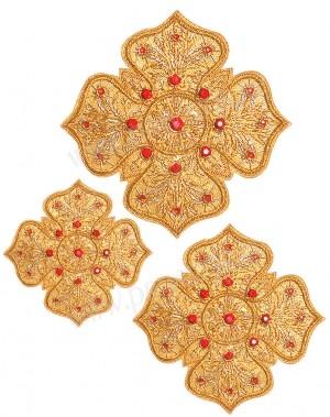 Кресты ручной вышивки №Д169