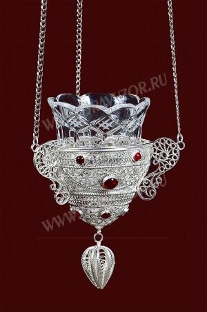 Филигранная подвесная лампада №3-4