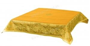 """Пелена вышитая """"Покров"""" (жёлтый/золото)"""