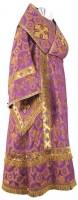 Архиерейское облачение из шёлка Ш4 (фиолетовый/золото)