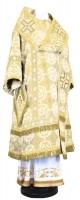 Архиерейское облачение из шёлка Ш4 (белый/золото)