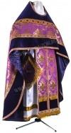 Иерейское русское облачение из парчи ПГ2 (фиолетовый/золото)