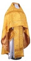 Иерейское русское облачение из шёлка Ш3 (жёлтый/золото)