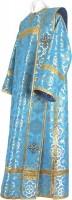 Дьяконское облачение из парчи ПГ2 (синий/золото)