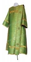 Дьяконское облачение из парчи ПГ2 (зелёный/золото)