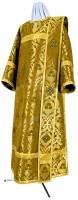 Дьяконское облачение из парчи ПГ6 (жёлтый-бордо/золото)