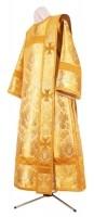 Дьяконское облачение из парчи ПГ6 (жёлтый/золото)