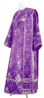 Дьяконское облачение из шёлка Ш2 (фиолетовый/серебро)