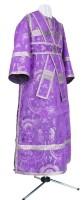 Иподьяконское облачение из парчи ПГ2 (фиолетовый/серебро)