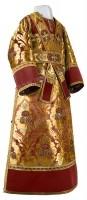 Иподьяконское облачение из парчи ПГ5 (бордовый/золото)