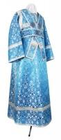 Иподьяконское облачение из шёлка Ш2 (синий/серебро)