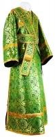 Иподьяконское облачение из шёлка Ш2 (зелёный/золото)