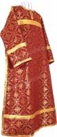 Стихарь клирика из шёлка Ш3 (бордовый/золото)