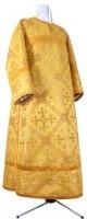 Стихарь клирика из шёлка Ш3 (жёлтый/золото)