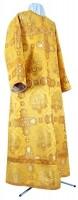 Стихарь клирика из шёлка Ш4 (жёлтый-бордо/золото)