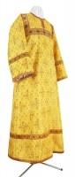 Стихарь детский из парчи ПГ1 (жёлтый/золото)