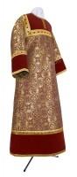 Стихарь детский из парчи ПГ2 (бордовый/золото)