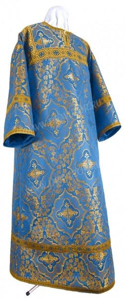 Стихарь детский из шёлка Ш4 (синий/золото)
