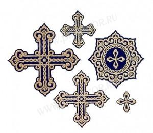 """Вышитые кресты """"Восточные"""""""