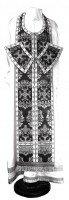 Требный комплект из парчи ПГ5 (чёрный/серебро)