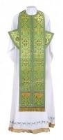 Требный комплект из шёлка Ш2 (зелёный/золото)