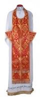 Требный комплект из шёлка Ш2 (красный/золото)