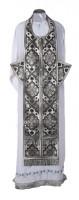 Требный комплект из шёлка Ш2 (чёрный/серебро)
