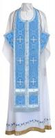 Требный комплект из шёлка Ш4 (синий/серебро)