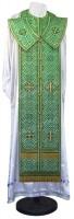 Требный комплект из шёлка Ш4 (зелёный/золото)