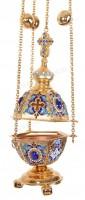 Кадило архиерейское шестигранное (эмаль)