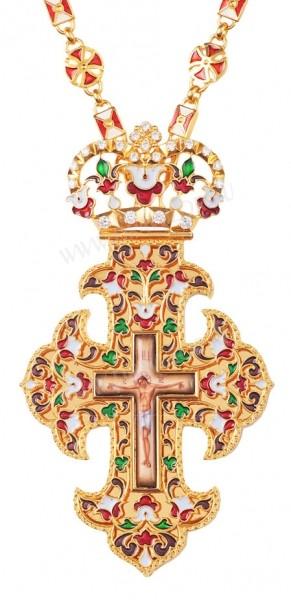 Крест наперсный №029