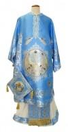 Архиерейское облачение - Преображенское (голубое)