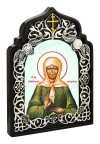 Икона настольная  - святая блаженная Матрона Московская.